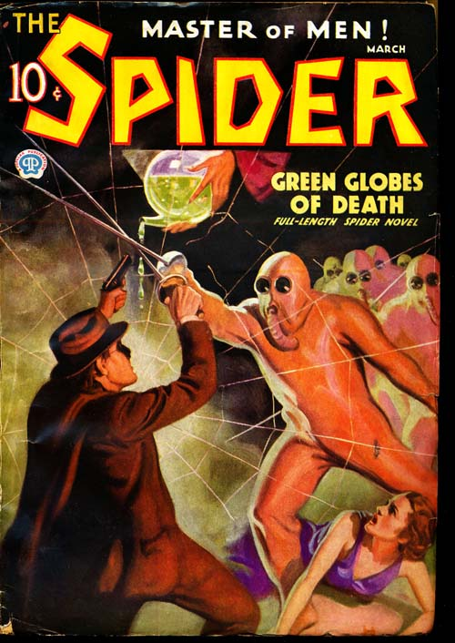 Spider, The - 03/36 - VGOOD + - ID#: 80-96613