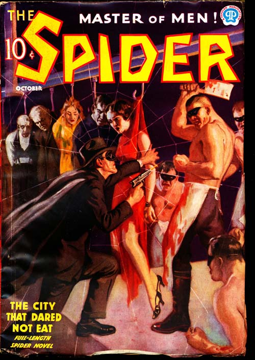Spider, The - 10/37 - VGOOD - ID#: 80-96632