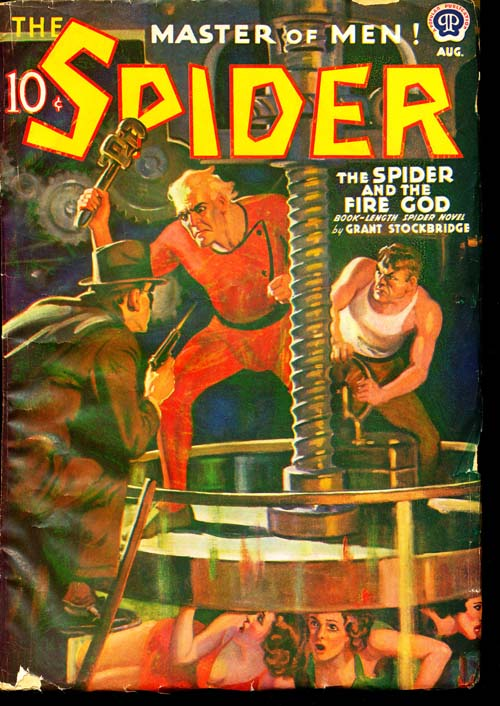 Spider, The - 08/39 - VGOOD + - ID#: 80-96654