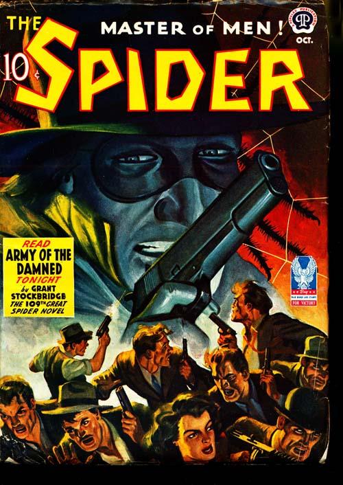 Spider, The - 10/42 - FINE - ID#: 80-96692