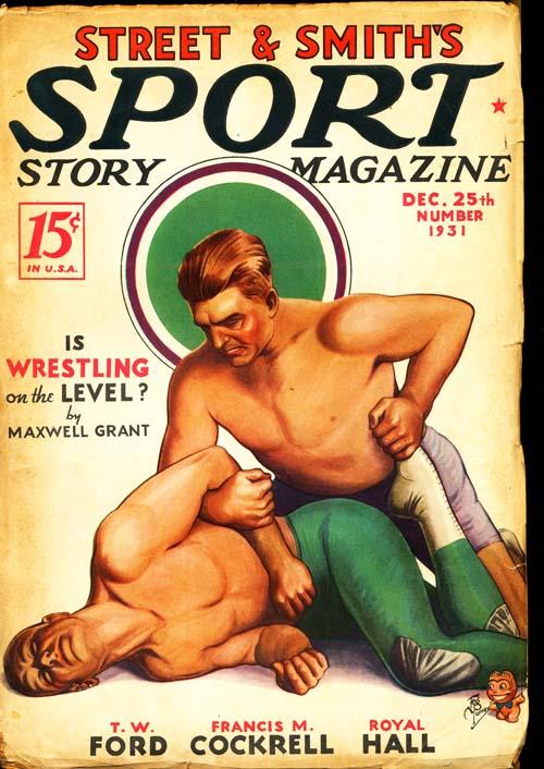 Street & Smith's Sport Story Magazine - 12/25/31 - VGOOD - ID#: 80-96702