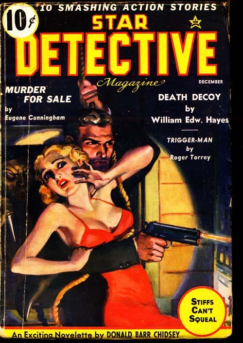 Star Detective Magazine - 12/36 - VGOOD + - ID#: 80-96722