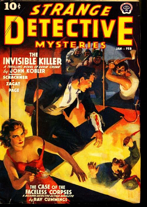 Strange Detective Mysteries - 01-02/39 - FINE + - ID#: 80-96745