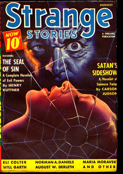 Strange Stories - 08/40 - FINE - ID#: 80-96769