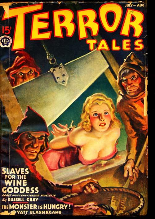 Terror Tales - 07-08/39 - VGOOD - ID#: 80-96889