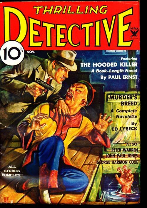 Thrilling Detective - 11/34 - FINE - ID#: 80-96928