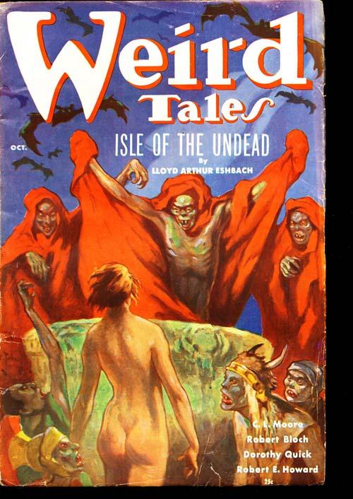 Weird Tales - 10/36 - VGOOD + - ID#: 80-97132