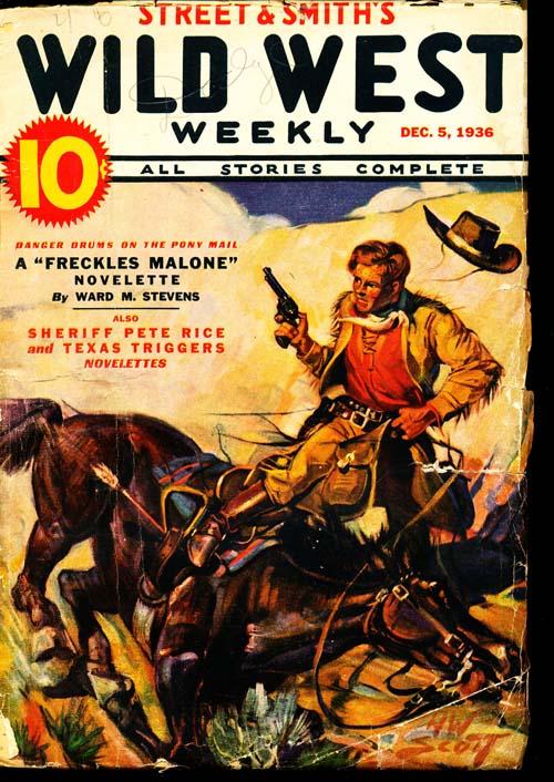 Wild West Weekly - 12/05/36 - GOOD + - ID#: 80-97215