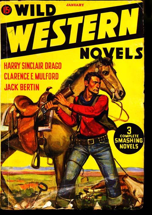 Wild Western Novels - 01/36 - VGOOD - ID#: 80-97217