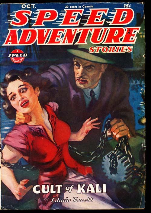 Speed Adventure Stories - 10/45 - FINE + - ID#: 80-98601