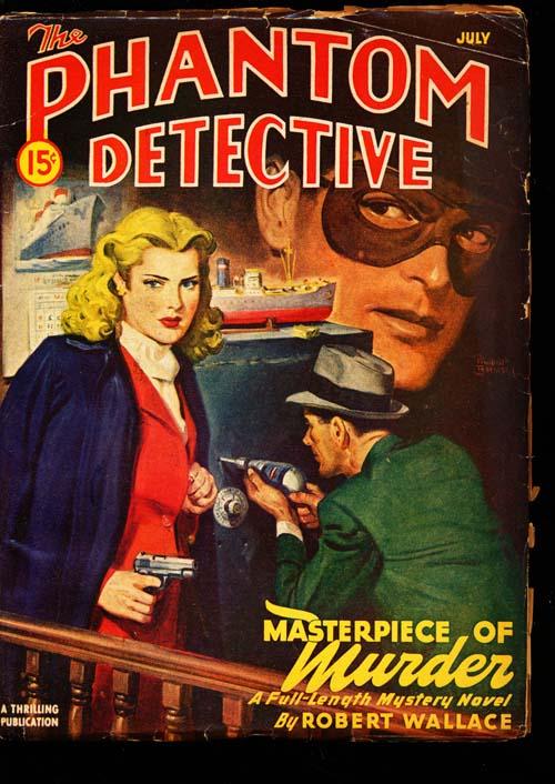 Phantom Detective - 07/47 - VGOOD + - ID#: 80-98644