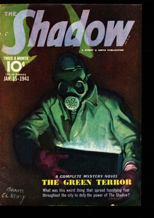 Shadow Magazine - 01/15/41 - FINE - ID#: 80-98684