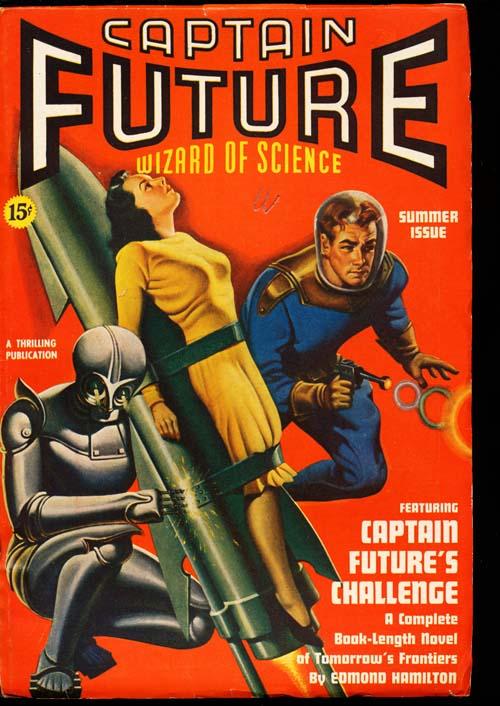 Captain Future - SUMMER/40 - VFINE - ID#: 80-98709
