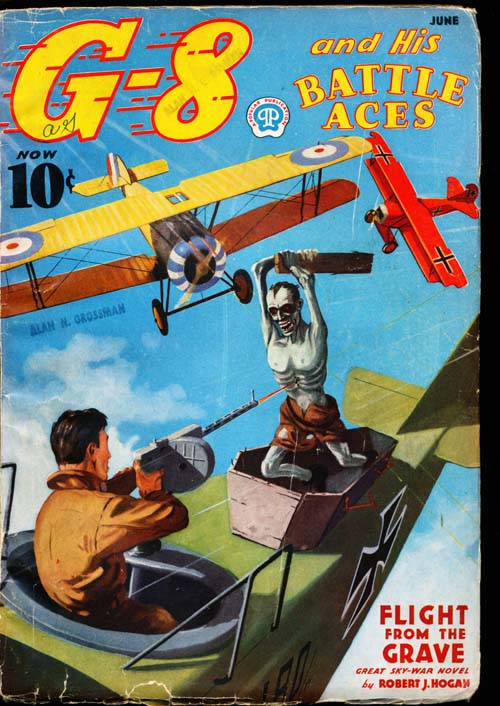 G-8 and His Battle Aces - 06/37 - VGOOD + - ID#: 80-98722