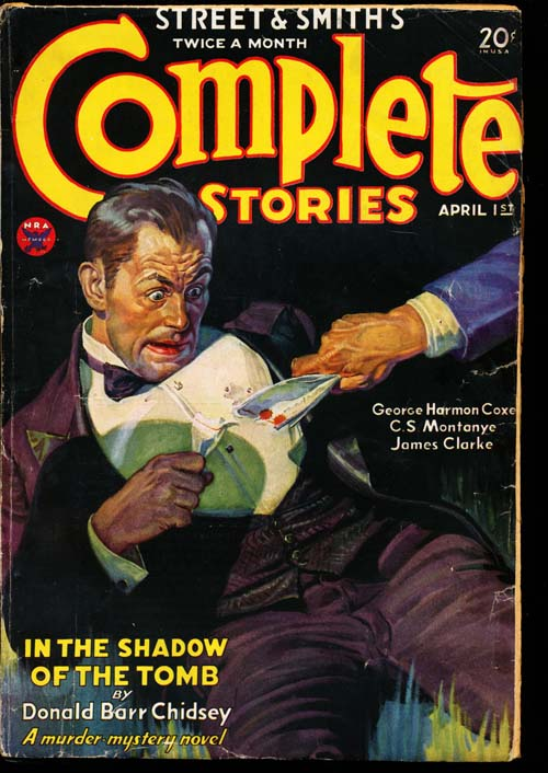 Complete Stories - 04/01/34 - GOOD - ID#: 80-98800