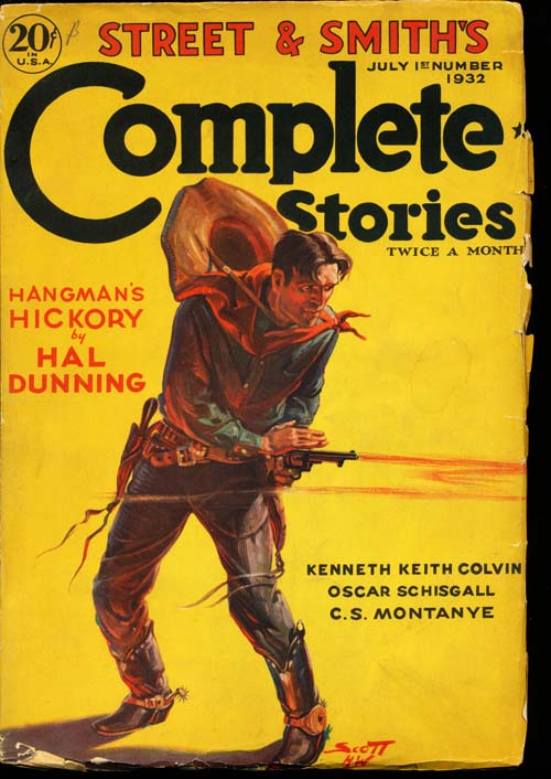 Complete Stories - 07/01/32 - VGOOD + - ID#: 80-98814