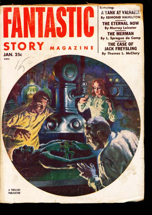 Fantastic Story Magazine - 01/53 - VGOOD - ID#: 80-98846
