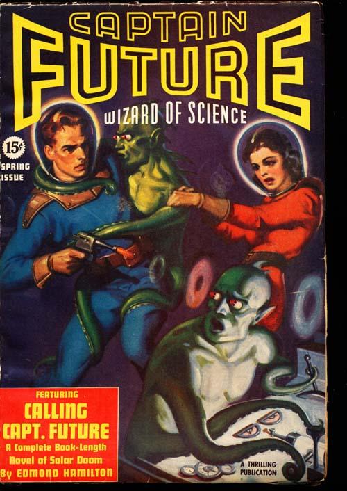 Captain Future - SPRING/40 - FINE + - ID#: 80-98871