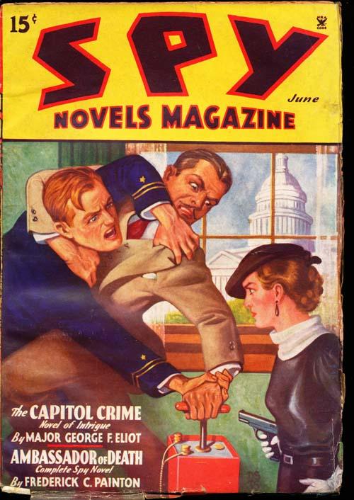 Spy Novels Magazine - 06/35 - VGOOD + - ID#: 80-98878
