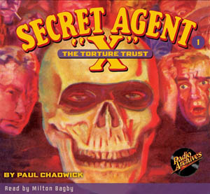 "Secret Agent ""X"" Audiobooks"