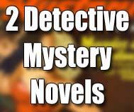 2 Detective Mystery Novels Magazine