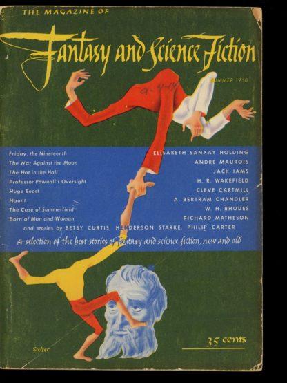 FANTASY AND SCIENCE FICTION - SUMMER/50 - SUMMER/50 - G-VG - Mercury Press