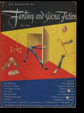 FANTASY AND SCIENCE FICTION - FALL/50 - FALL/50 - G-VG - Mercury Press