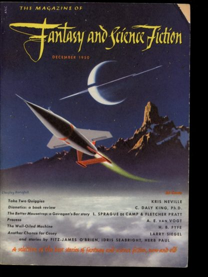 FANTASY AND SCIENCE FICTION - 12/50 - 12/50 - G-VG - F&SF Book Company