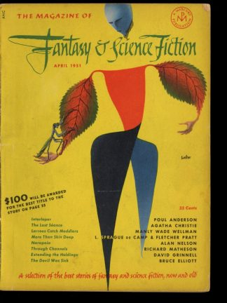 FANTASY AND SCIENCE FICTION - 04/51 - 04/51 - VG - Fantasy House