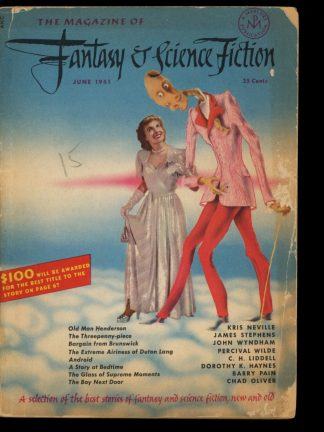 FANTASY AND SCIENCE FICTION - 06/51 - 06/51 - G-VG - Fantasy House