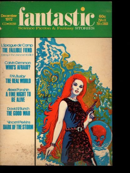 FANTASTIC - 12/72 - 12/72 - VG - Mercury Press