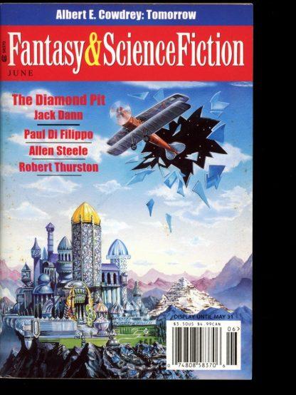 FANTASY & SCIENCE FICTION - 06/01 - 06/01 - VG-FN - Spilogale