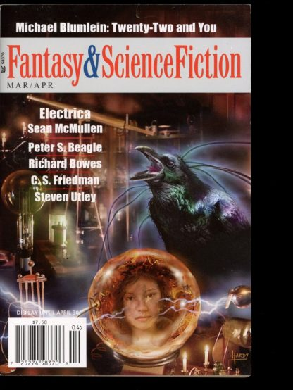FANTASY & SCIENCE FICTION - 03-04/12 - 03-04/12 - VG-FN - Spilogale