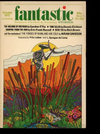 FANTASTIC - 10/72 - 10/72 - VG - Ultimate Publishing