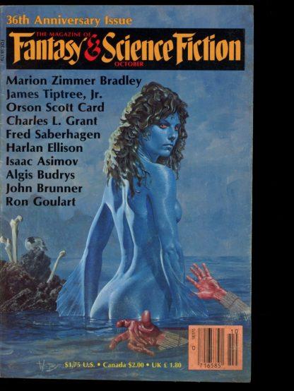 FANTASY & SCIENCE FICTION - 10/85 - 10/85 - VG - Mercury Press
