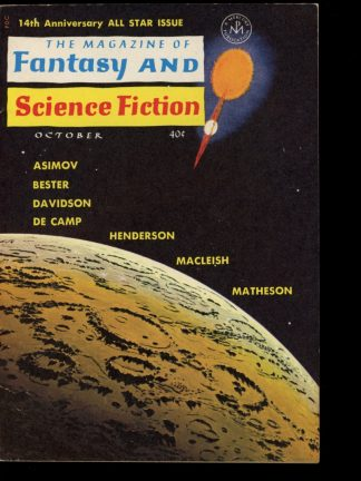 FANTASY & SCIENCE FICTION - 10/63 - 10/63 - FN - Mercury Press