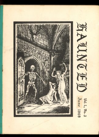 HAUNTED: STUDIES IN GOTHIC FICTION - 06/68 - 06/68 - G-VG - Russell