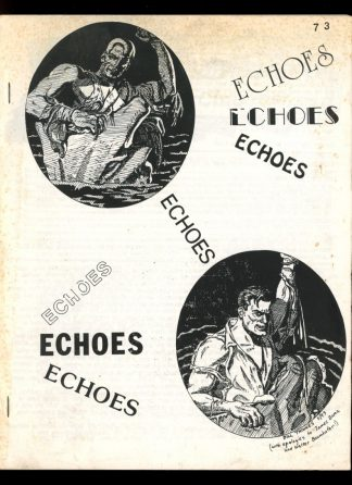 ECHOES - #73 - 06/94 - G-VG - Fading Shadows