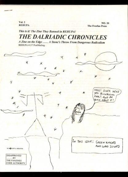 DALRIADIC CHRONICLES - #20 - 02-03/96 - VG - Sheaffer