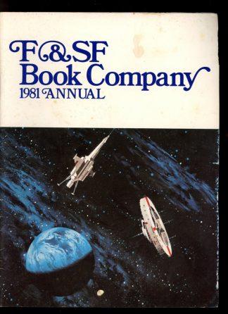 F&SF BOOK COMPANY ANNUAL - 1981 - -/81 - G-VG - F&SF Book Company