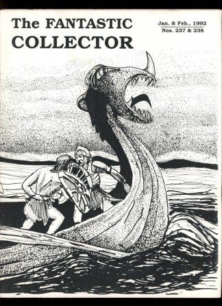 FANTASTIC COLLECTOR - #237-238 - 01-02/92 - VG - Cazedessus