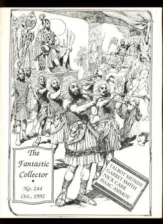FANTASTIC COLLECTOR - #244 - 10/92 - VG - Cazedessus