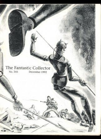 FANTASTIC COLLECTOR - #245 - 12/92 - VG - Cazedessus