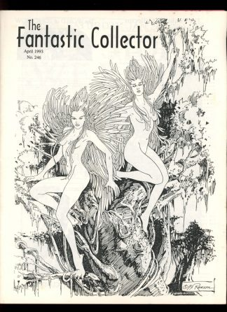 FANTASTIC COLLECTOR - #246 - 04/93 - VG - Cazedessus