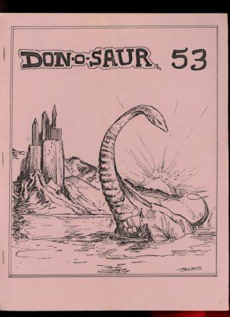 DON-O-SAUR - #53 - 01/89 - G-VG - Don Thompson