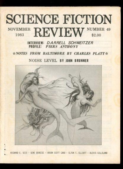 Science Fiction Review - #49 - 11/83 - VG - Science Fiction Review