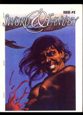 Sword & Fantasy - #5 - 01/06 - VG-FN - James Van Hise