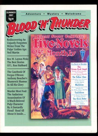 Blood 'N' Thunder - #18 - SUMMER/07 - VG-FN - Ed Hulse