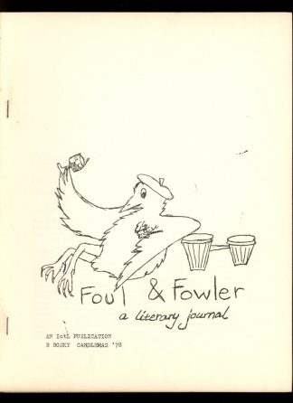 Foul & Fowler - CANDLEMAS/78 - CANDLEMAS/78 - VG-FN - Bernadette Bosky