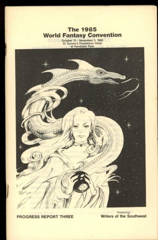 1985 World Fantasy Convention - PROGRESS REPORT #3 - -/85 - VG-FN - World Fantasy Convention